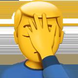 🤦 Significado del emoji Hombre con la mano en la cara